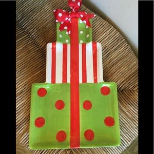 Mudpie Christmas serving platter